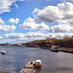 Panorama Stockholm by the Water by Ingemar Pongratz