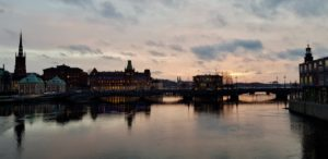 Stockholm evening by Ingemar Pongratz